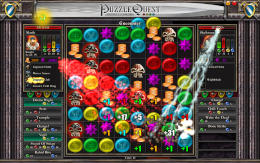 Zaslonska slika igre Puzzle Quest: Challenge of the Warlords