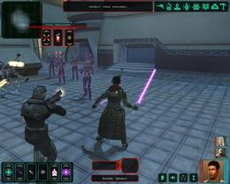Star Wars: Knights of the Old Republic 2: moč sile